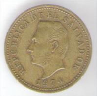 EL SALVADOR 3 CENTAVOS 1974 - El Salvador