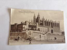 E.33  ESPAGNE  /  MALLORCA  /  Palma De Mallorca  /  Catedral Y Palacio De Laa Almudaina - Mallorca