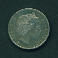 AUSTRALIA - 1999 20c Circ. - Decimal Coinage (1966-...)