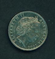 AUSTRALIA - 2000 10c Circ. - Decimal Coinage (1966-...)
