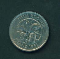 ICELAND - 1981 5k Circ. - Iceland