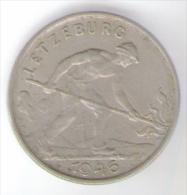 LUSSEMBURGO 1 FRANC 1946 - Lussemburgo