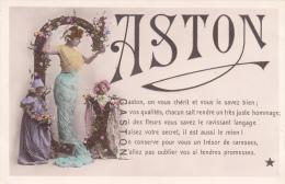 CPA -  Trés Jolie Carte GASTON - Maman Et Ses Enfants(Marque ETOILE) - Firstnames