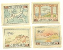 1926 - Grecia PA 1/4 Idrovolante, - Aerei