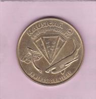 JETON TOURISTIQUE  De 1998 !!! - NAUSICAA Boulogne Sur Mer (62) @ Monnaie De Paris Requin - Raie - Monnaie De Paris