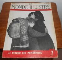 Le Monde Illustré. N°4302. 7 Avril 1945. Le Retour Des Prisonniers. - Histoire