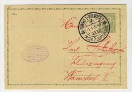 CSSR Ganzsache gebraucht 1937