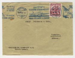 CSSR Michel No. 374 gestempelt used auf Brief