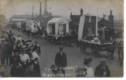 LANCS - RAMSBOTTOM - CYCLE PARADE 1908 RP   La 1788 - Inghilterra