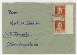 Gemeinschaftsausgaben Michel No. 963 gestempelt used auf Brief MeF