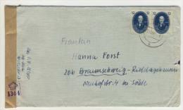 DDR Michel No. 266 a auf Brief