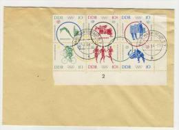 DDR Michel No. 1039 - 1044 auf Umschlag