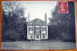 Cpa CHARTRES 35 Parc Et Château Du Marais - France