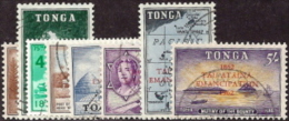 Tonga,  Scott 2013 # 119-126,  Issued 1969,  Set Of 8,  Used,  Cat $ 12.90, - Tonga (1970-...)
