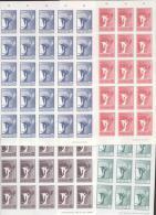 Litauen ** 457-460  Friedensengel Bogen 25 Stück Katalog  80,00 - Lituania