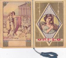"""CALENDARIETTO  """"ORFEO """"  EURIDICE MITOLOGICO    1933 -2-  0882 -17519-520 - Petit Format : 1921-40"""