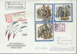 ALEMANIA DDR CC CERTIFICADA REVOLUCION FRANCESA - Franz. Revolution