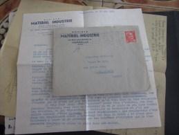 Chaud Chaud Le Licenciement Lire> Marseille > CarcassonneTimbre Type Marianne De Gandon  Seul Sur Lettre + Courrier - 1921-1960: Periodo Moderno