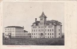 Exterior,  Augustana College,  Canton,  South Dakota,   PU_1908 - United States
