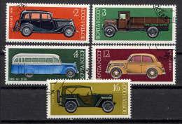RUSSIE - N° 4145/4149° - CONSTRUCTION AUTOMOBILE EN U.R.S.S. - 1923-1991 URSS