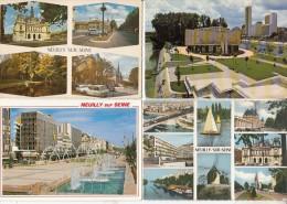 NEUILLY SUR SEINE 92 - Petit Lot De 11 CPSM-CPM : Toutes Les Cartes Scannées - Neuilly Sur Seine