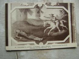 Cheverny - Le Chateau -   Salle A Manger - Histoire De Don Quichotte - Don Quixote  -Cervantes Molen Moulin D105989 - Peintures & Tableaux