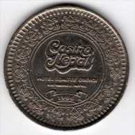 Népal : Jeton De Slot Machine : Casino Nepal - Hotel Soaltee Oberoi 1996 (Taille Las Vegas) - Casino