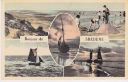Bonjour De Bredene . Carte Multi Vues . - Bredene