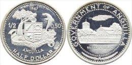 ANGUILLA HALF DOLLAR 1969 - Otros – América