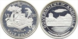 ANGUILLA HALF DOLLAR 1969 - Monedas
