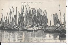 LE CROTOY - Port à Marée Haute - Le Crotoy