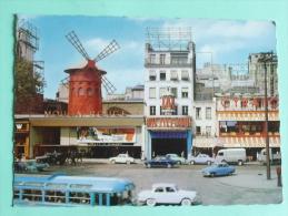 PARIS - Le Moulin Rouge, Place Blanche - Arrondissement: 18