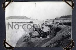 Congo Belge Katanga Panda - Mine De Cuivre Prince Leopold Kipushi 1928  Train Locomotive & Grue  - Copper Mines - Africa