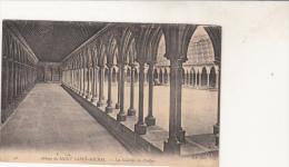 Mont Saint Michel Les Galeries Du Cloitre - Le Mont Saint Michel