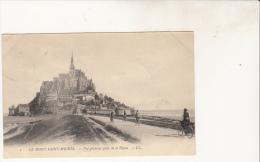 Mont Saint Michel Vue Générale Prise De La Digue - Le Mont Saint Michel
