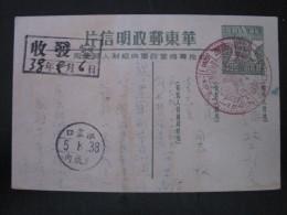 Intero Postale Viaggiato Nel 1938 - Gebraucht