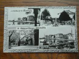 POSDRAV It ROVINJA Iz ZELEZNISKEGA LETOVISCA (?) / Anno 1969 ( Zie Foto Voor Details ) !! - Yougoslavie
