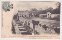 (RECTO / VERSO) CHATILLON COLIGNY - LE CHATEAU - GALERIE DU XVIIe SIECLE - MAGNIFIQUE TERRASSE - Chatillon Coligny