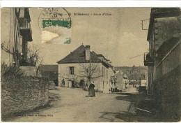 Carte Postale Ancienne Allassac - Rue D'Objat - Francia