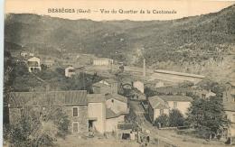 30 BESSEGES VUE DU QUARTIER DE LA CANTONADE - Bessèges