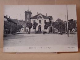 D 88.N° 60 .-  BUSSANG - La Mairie Et L'Eglise . - Bussang