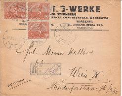 Reco Mit 3 Marken Aus Dem Jahre 1921 - Briefe U. Dokumente