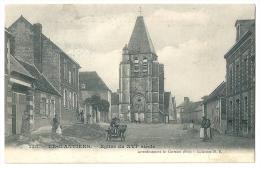 Cpa: 60 LEGLANTIERS (ar. Clermont) Eglise Du XVIe Siécle (animé, Voiture) 1906  N° 335 - France