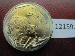 Colombia  500  Pesos  2012  Rana De Cristal , Bimetalica , Bimetallic - Otros – América