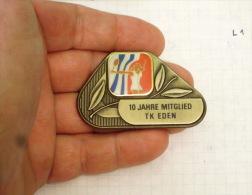 10 JAHR  MITGLIED (10 YEAR MEMBER) - TK EDEN  Wien Tenis Club Award (Austria Autriche Österreich) - Tennis