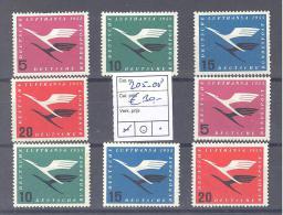Michel #  205 - 208  Kat Wert € 60 - BRD