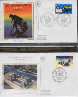LOT De 2 ENVELOPPES F.D.C. ANNEE 1996 SOUS BLISTER - FDC
