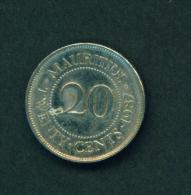 MAURITIUS - 1987 20c Circ. - Mauritius