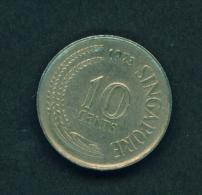 SINGAPORE - 1973 10c Circ. - Singapore