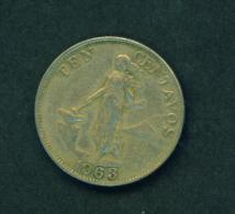 PHILIPPINES - 1963 10c Circ. - Philippines